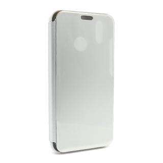 Futrola BI FOLD CLEAR VIEW za Huawei P20 Lite srebrna