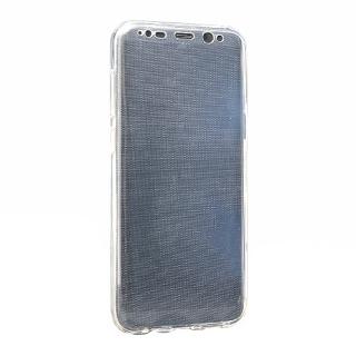 Futrola silikon 360 za Samsung G955F Galaxy S8 Plus providna