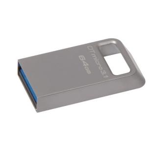 Fleš pen 64GB metalni D Travel 3.1 micro Kingston