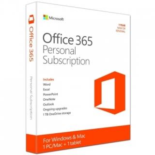 MICROSOFT Office 365 Personal godišnja pretplata 32bit/64bit P2 Eng (QQ2-00880)
