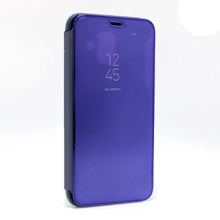 Futrola BI FOLD CLEAR VIEW za Samsung A600F Galaxy A6 2018 ljubicasta
