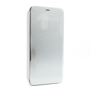 Futrola BI FOLD CLEAR VIEW za Samsung A605G Galaxy A6 Plus 2018 srebrna