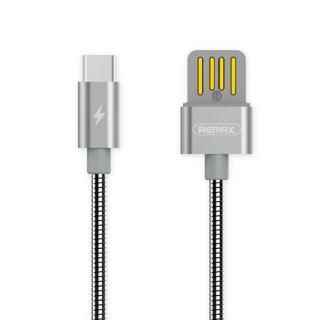 USB data kabal REMAX TINNED COPPER RC-080a type C srebrni 1.2m