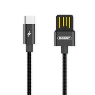 USB data kabal REMAX TINNED COPPER RC-080a type C crni 1.2m