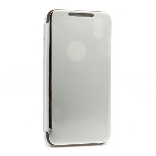 Futrola BI FOLD CLEAR VIEW za Iphone XS Max srebrna