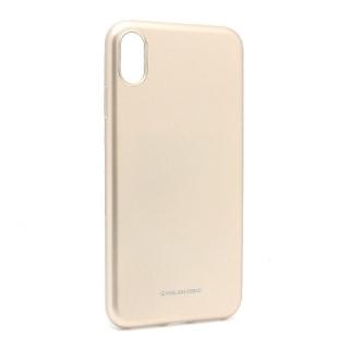 Futrola Jelly za Iphone XS Max zlatna