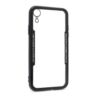 Futrola BACK CLEAR za Iphone XR crna