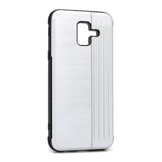 Futrola Pocket Holder za Samsung A600F Galaxy A6 2018 srebrna
