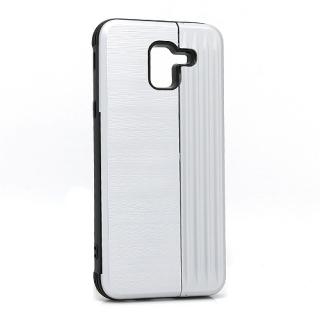 Futrola Pocket Holder za Samsung J600F Galaxy J6 2018 srebrna