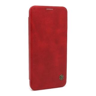 Futrola NILLKIN QIN za Huawei Mate 20 Lite crvena