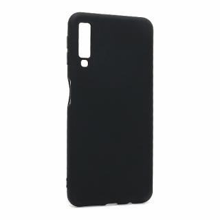 Futrola ULTRA TANKI KOLOR za Samsung A750F Galaxy A7 2018 crna