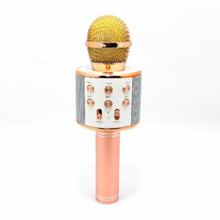 Mikrofon 858 Bluetooth roze