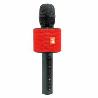 Mikrofon V8 Bluetooth crveni