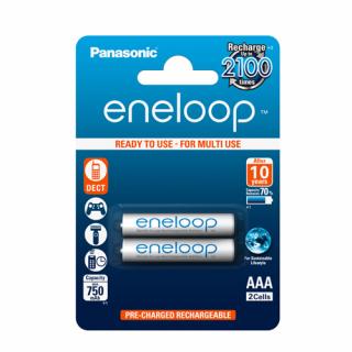 Baterija NiMH punjiva Eneloop 1.2V 800mAh AAA 2/1 blister PANASONIC