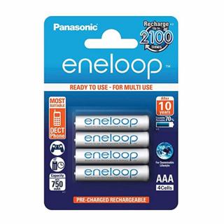 Baterija NiMH punjiva Eneloop 1.2V 800mAh AAA 4/1 blister PANASONIC