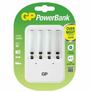 Punjac standardni PowerBank PB420GS-2UE1 za 4 baterije GP
