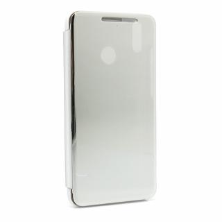 Futrola BI FOLD CLEAR VIEW za Huawei Honor 8X srebrna