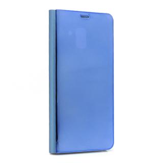 Futrola BI FOLD CLEAR VIEW za Samsung A730F Galaxy A8 Plus teget
