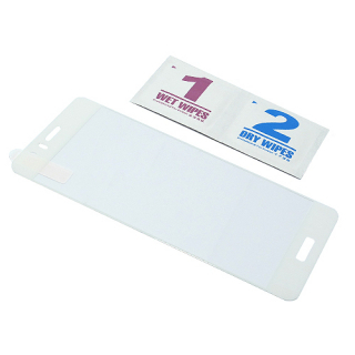 Folija za zastitu ekrana GLASS COLOR za Huawei Honor 8 bela