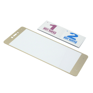 Folija za zastitu ekrana GLASS COLOR za Huawei P10 bela
