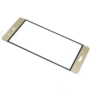 Folija za zastitu ekrana GLASS COLOR za Huawei P9 zlatna