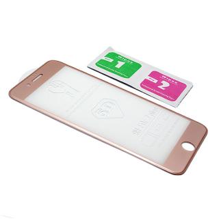 Folija za zastitu ekrana GLASS 5D za Iphone 7 Plus roze