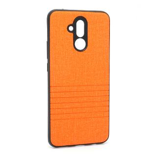 Futrola silikon Embossed za Huawei Mate 20 Lite narandzasta