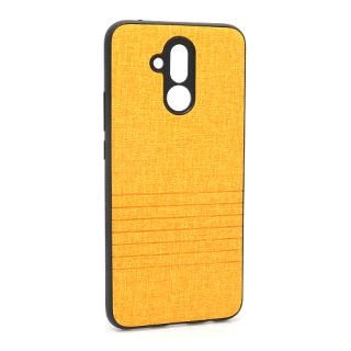 Futrola silikon Embossed za Huawei Mate 20 Lite svetlo narandzasta
