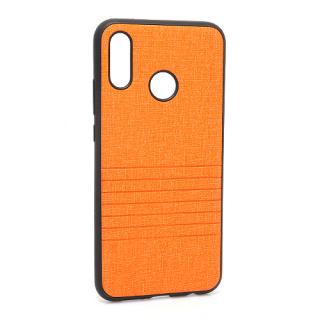 Futrola silikon Embossed za Huawei P20 Lite narandzasta