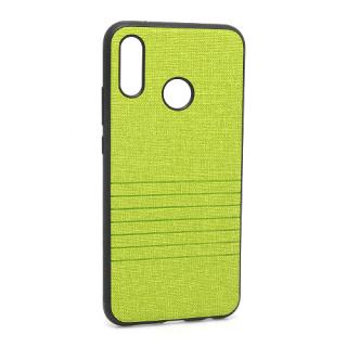 Futrola silikon Embossed za Huawei P20 Lite zelena