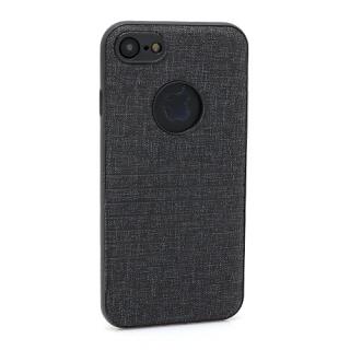 Futrola silikon Embossed za Iphone 7 crna