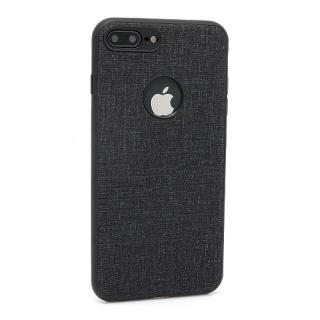Futrola silikon Embossed za Iphone 7 Plus crna