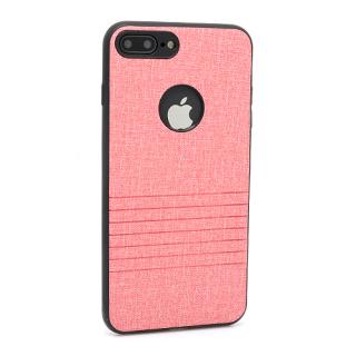 Futrola silikon Embossed za Iphone 7 Plus roze