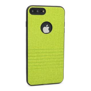 Futrola silikon Embossed za Iphone 7 Plus zelena