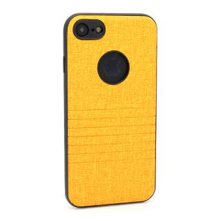 Futrola silikon Embossed za Iphone 7 svetlo narandzasta