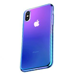 Futrola BASEUS Glow za Iphone X/Iphone XS plava