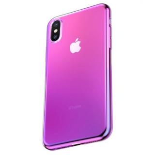Futrola BASEUS Glow za Iphone X/XS roze