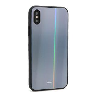 Futrola BASEUS Laser Luster za Iphone X/XS crna
