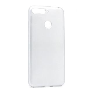 Futrola silikon SIMPLY za Huawei Honor 7A/Y6 Prime 2018 srebrna
