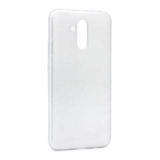 Futrola silikon SIMPLY za Huawei Mate 20 Lite srebrna