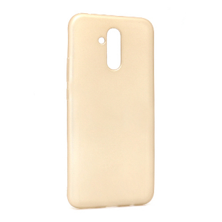 Futrola silikon SIMPLY za Huawei Mate 20 Lite zlatna