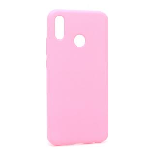 Futrola silikon SIMPLY za Huawei P20 Lite roze