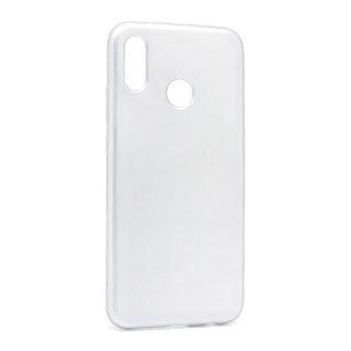 Futrola silikon SIMPLY za Huawei P20 Lite srebrna