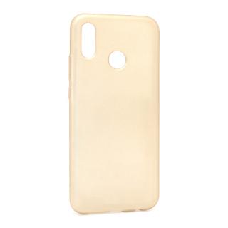 Futrola silikon SIMPLY za Huawei P20 Lite zlatna