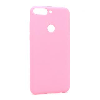 Futrola silikon SIMPLY za Huawei Y7 Prime 2018/Honor 7C roze