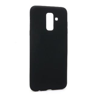 Futrola silikon SIMPLY za Samsung A605G Galaxy A6 Plus 2018 crna