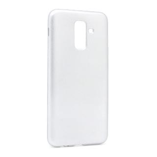 Futrola silikon SIMPLY za Samsung A605G Galaxy A6 Plus 2018 srebrna