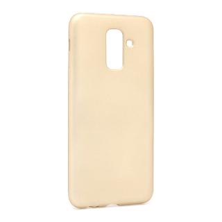 Futrola silikon SIMPLY za Samsung A605G Galaxy A6 Plus 2018 zlatna