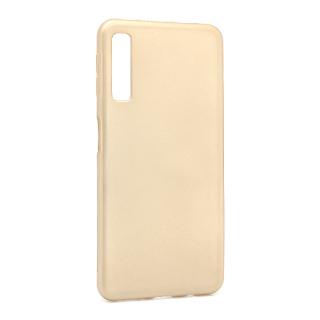 Futrola silikon SIMPLY za Samsung A750F Galaxy A7 2018 zlatna
