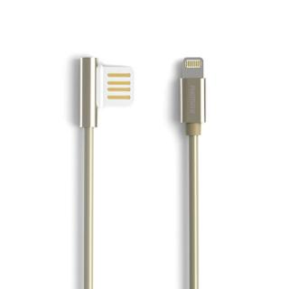 USB data kabal REMAX Emperor RC-054i za Iphone lightning zlatni